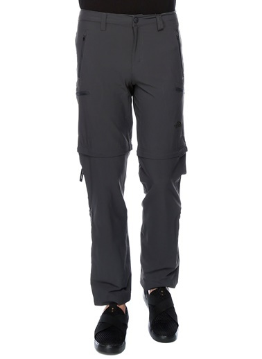 The North Face The North Face NF00CL9Q0C51 M Exploration Convertible Pant Outdoor Pantolonu Gri